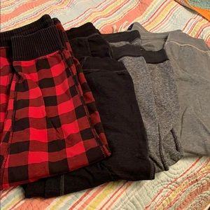 American Eagle sweat pants lot of 4